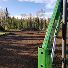 Riding Arena Subgrade Prep for Base